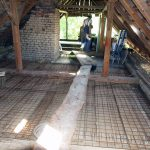 Rekonštrukcia podkrovia v tradičnej myjavskej chalupe.