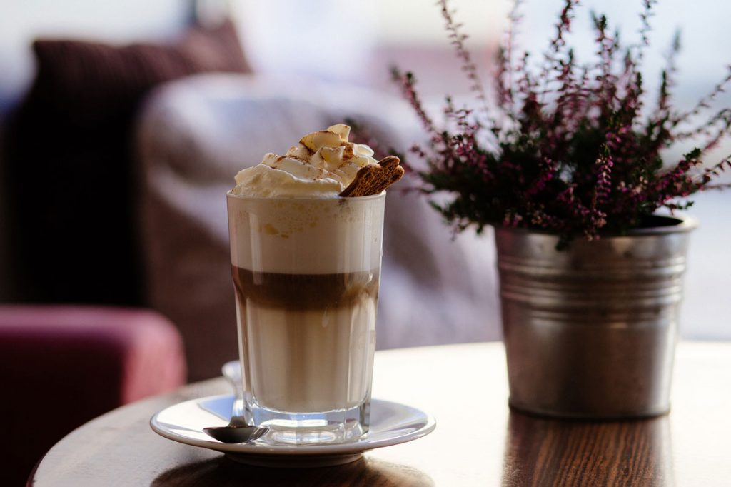 Recepty z kávy: kávový nápoj