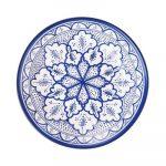 ľudové vzory v interiéri: tanier s ornamentom