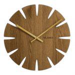 nástenné dubové hodiny