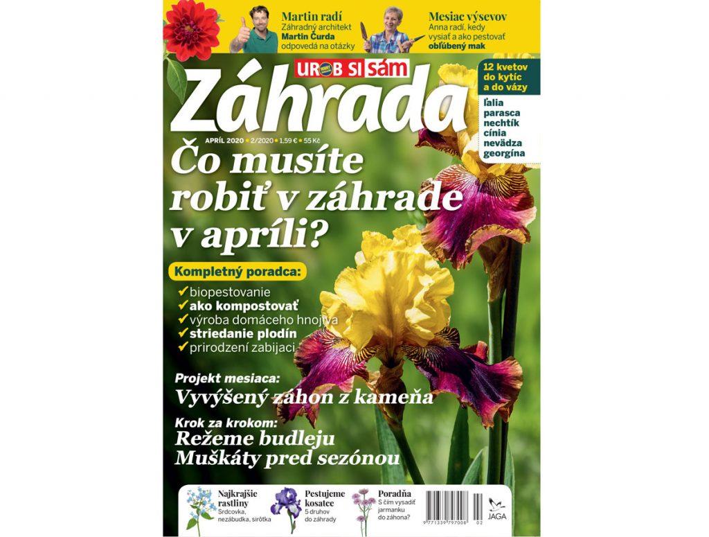Veľkonočná súťaž o predplatné časopisu Záhrada