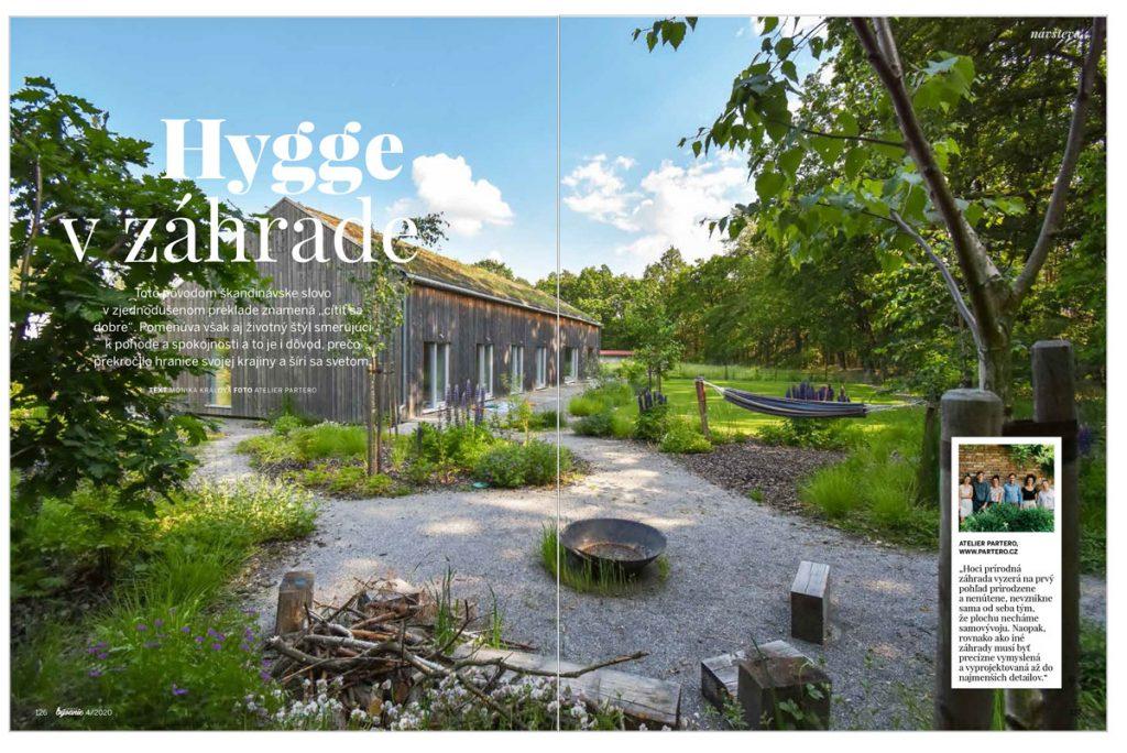 Aprílové vydanie Pekného bývania: téma Hygge v záhrade