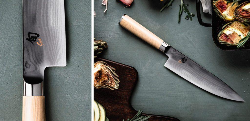 kuchárske nože z jaseňového dreva