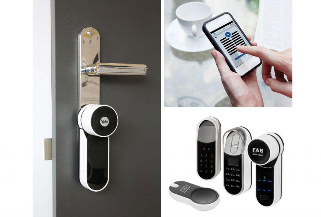Bezpečnostné dvere Sherlock: digitálny zámok