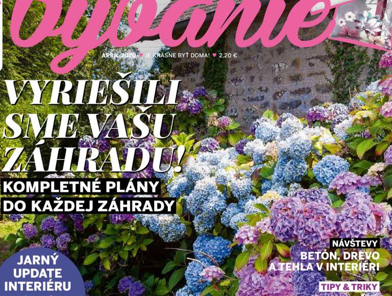 Čo vás čaká v aprílovom vydaní časopisu Pekné bývanie?