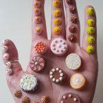 malé miniatúry koláčov