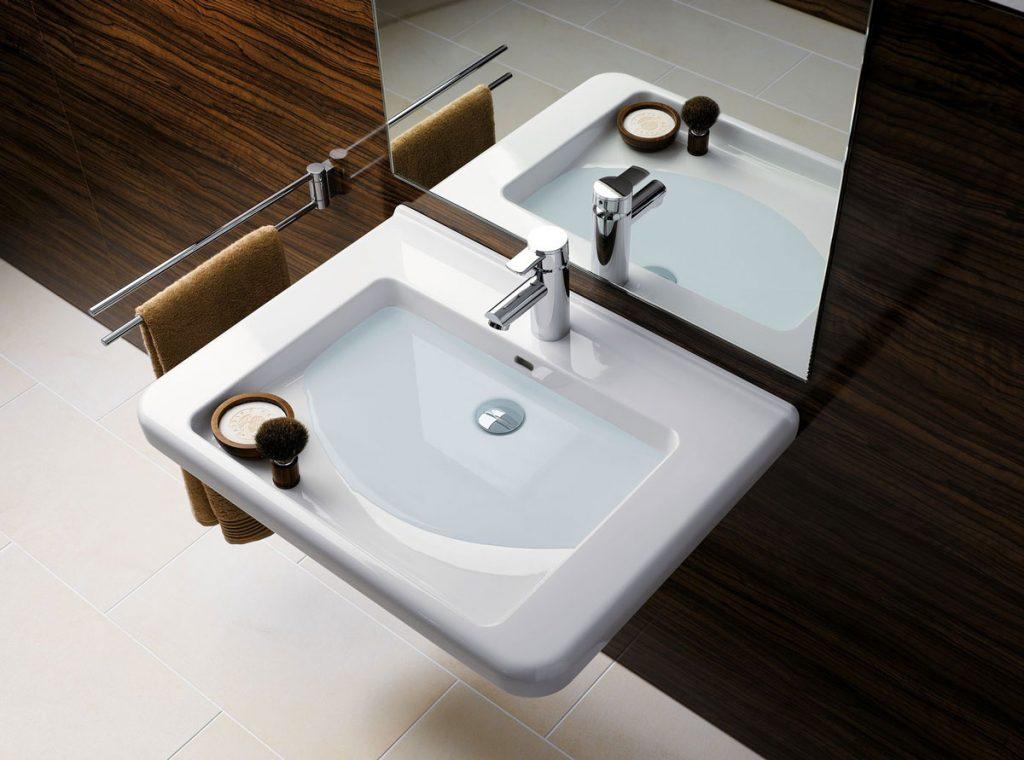 Bezbariérové riešenie umývadla Geberit Selnova Comfort