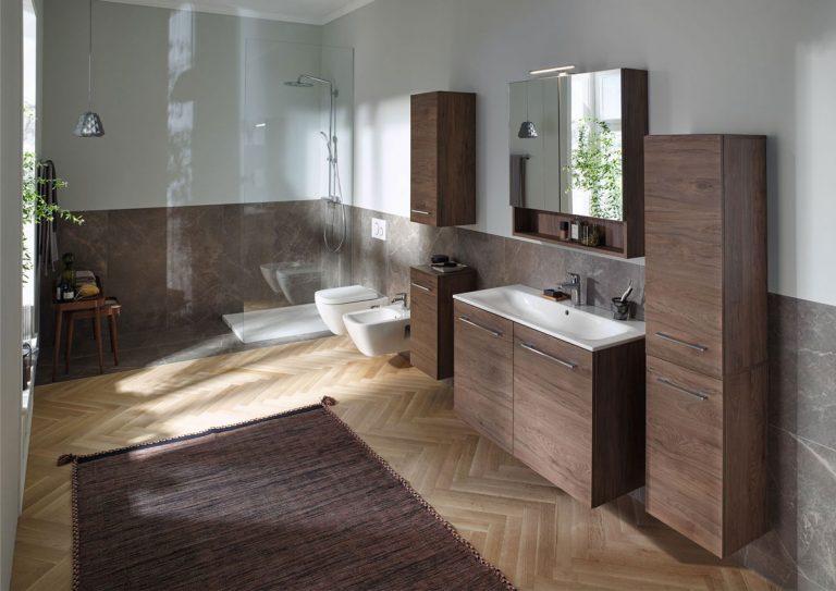 Klasicky nadčasová kúpeľňa