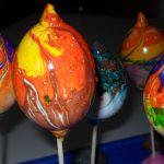 mramorované veľkonočné vajcia