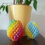 origami kraslice