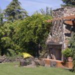 záhradný kamenný krb