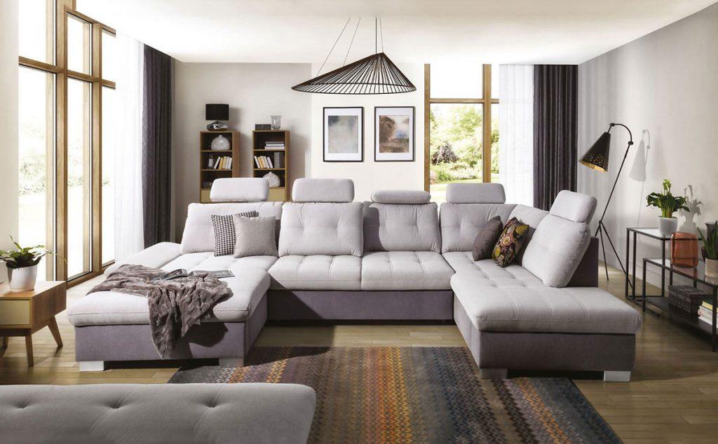 Zariadenie obývačky: Sedacia súprava Cremona XL