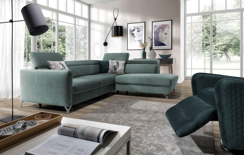 zariadenie obývačky: Sedacia súprava Marozzo