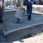 kladenie betónových platní na štrkové lôžko: Podkladová vrstva