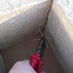 stavba betónového plota: Spájanie drôtom