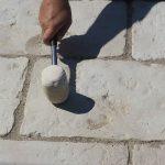kladenie betónových platní na štrkové lôžko: Finálna úprava