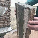 stavba betónového plota: Lepenie múrikovej čapice