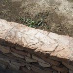 stavba betónového plota: Vyplnenie škár
