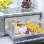 Chladnička s Dry Zone na mliečne výrobky alebo údeniny