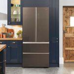 French Door chladnička Haier HB18FGSAAA s Easy Access zásuvkami mrazničky