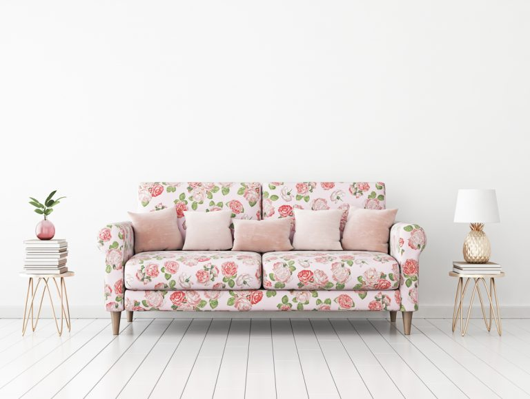 Ženskosť, jemnosť a elegancia: Kvetinové vzory vášmu interiéru pristanú