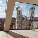 Výhľad na Viedeň z podkrovného apartmánu s XXL oknami
