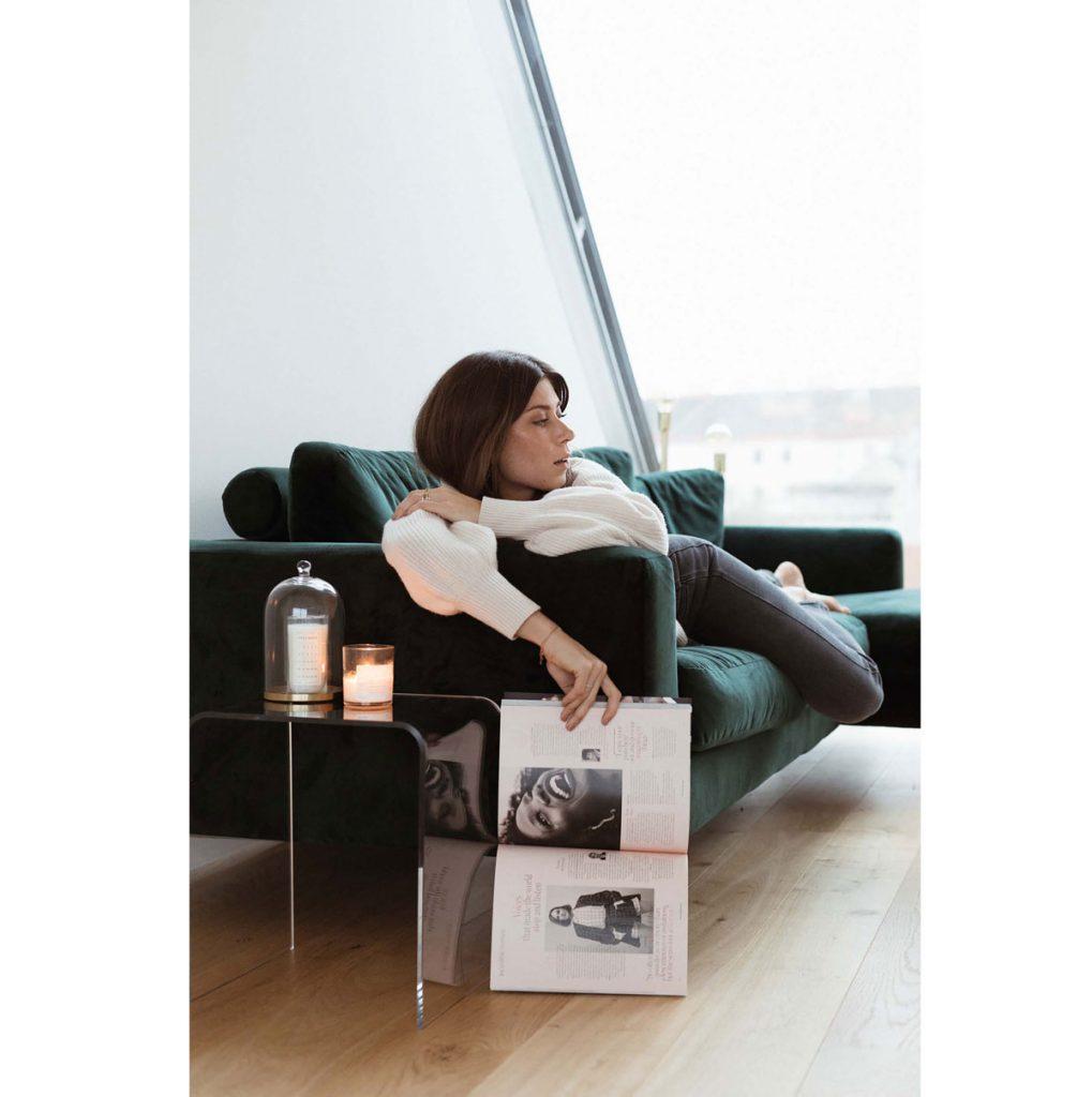 blogerka Vicky Heiler vo svojom podkrovnom apartmáne
