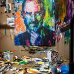 Obraz Steva Jobsa od maliara Jozefa Stančíka