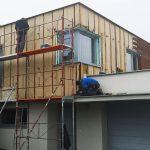 Inštalácia drevenej fasády Timbermax na rodinný dom