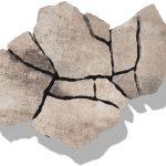 Ekologická exteriérová dlažba Poligono prirodna bezova
