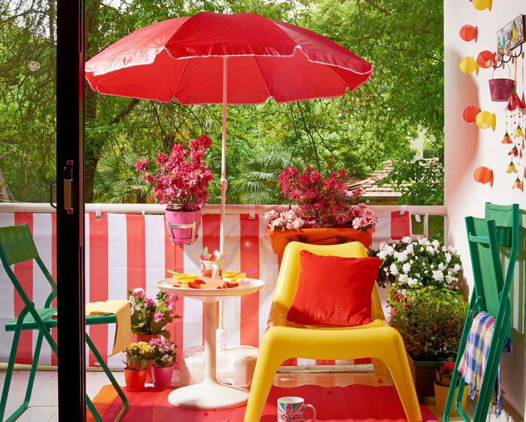 Tipy ako si vytvoriť z balkóna miesto na relax