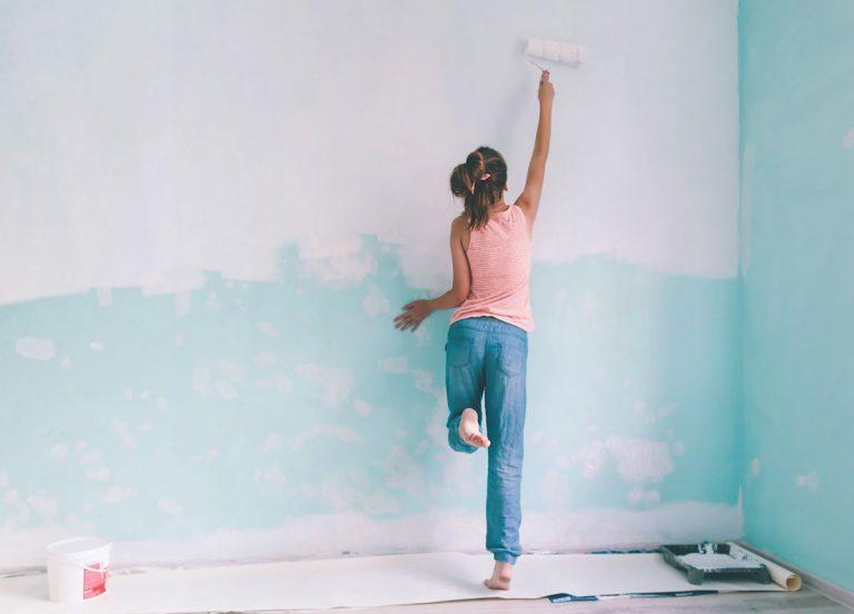 Steny ako od profesionála alebo Minipríručka maliara domáceho