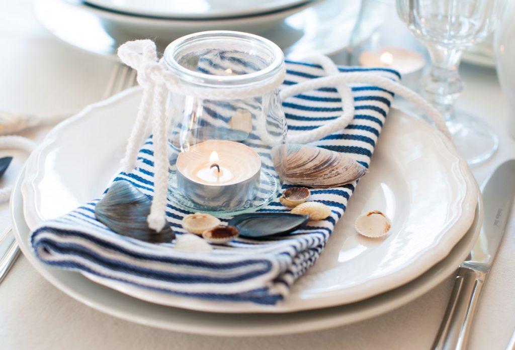 Námornícky štýl v stolovaní