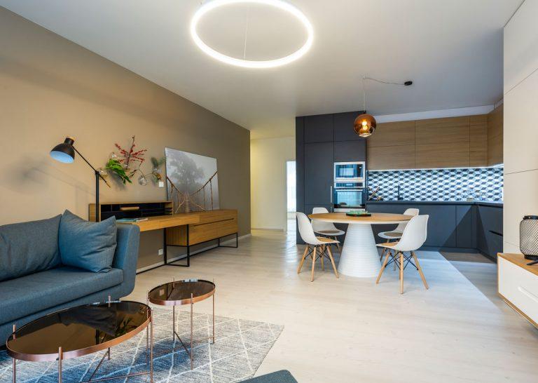 Ako vyzerajú štvorizbové byty v projekte Čerešne fine living? V jednom sme sa boli pozrieť