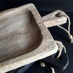 Ručne vyrobený drevený misolopár