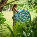 Veľký nafukovací matrac vhodný k moru aj do záhrady