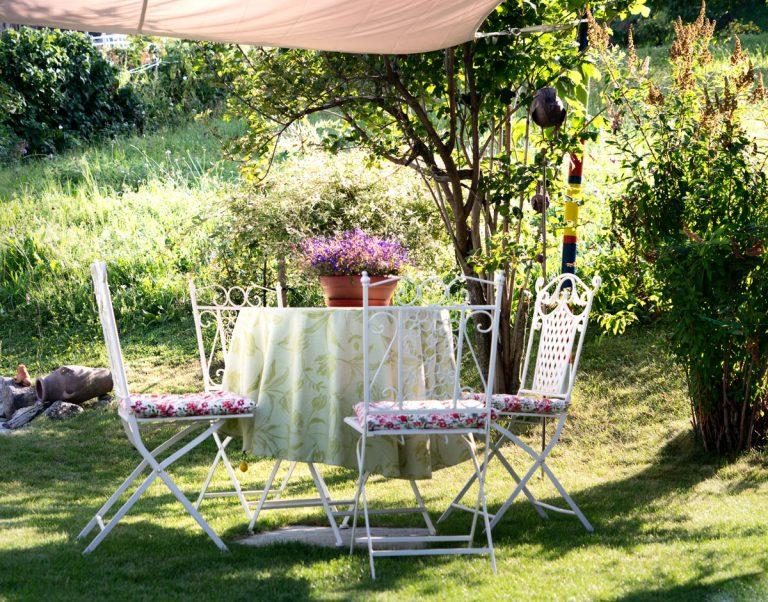 5 spôsobov, ako si vytvoriť v záhrade tieň