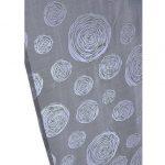 Panelová záclona s kruhmi