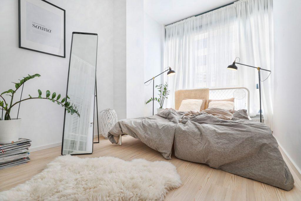 5 podôb spálne (seriál): Svieža a vzdušná spálňa v severskom dizajne