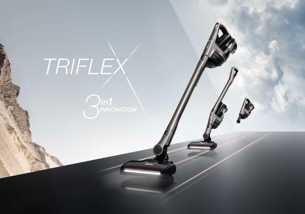 Vysávanie bez kompromisov – tyčový aku vysávač Miele Triflex HX1