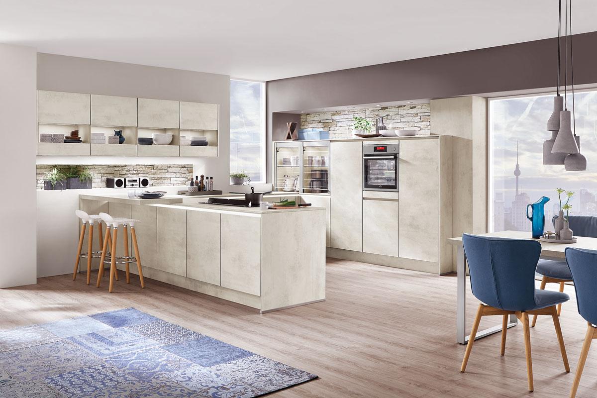 Moderná kuchyňa s ostrovčekom.
