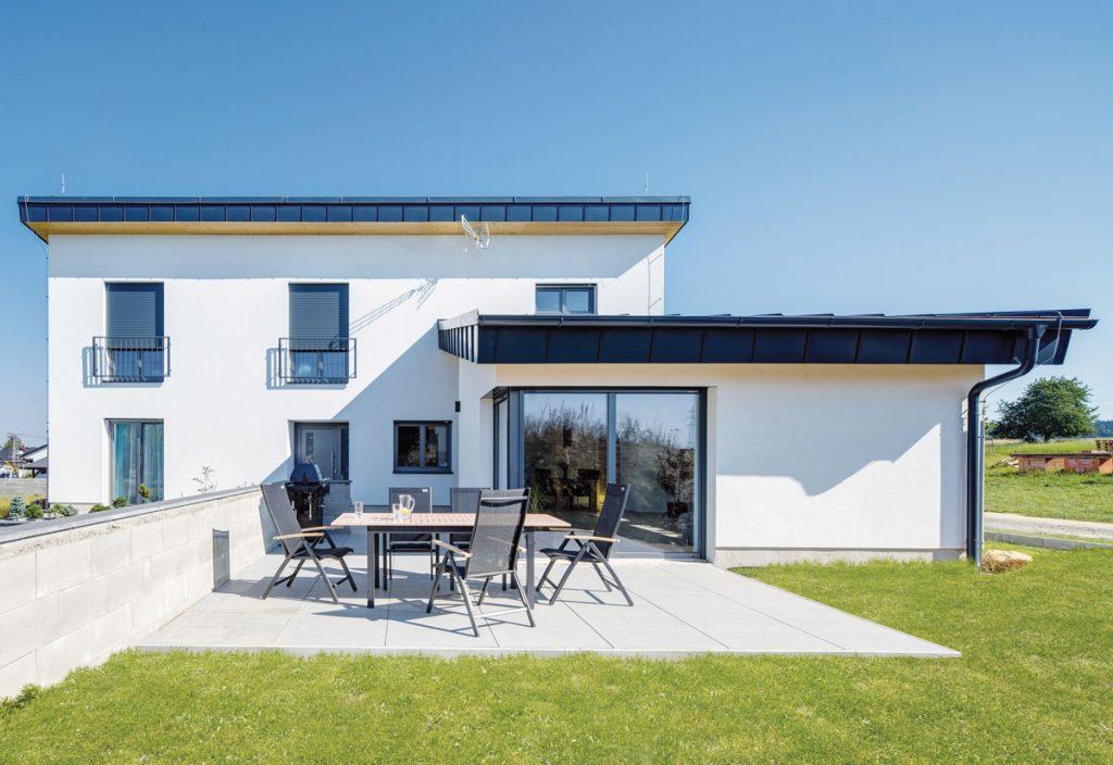 stavebné materiály vhodné na pasívny dom: Pasívny rodinný dom z keramických tehál