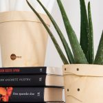 aranžovanie políc: kombinácia kníh a kvetín a polici
