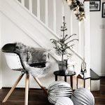 Inšpirácie na vianočný stromček: Predsieň s doplnkovým stromčekom
