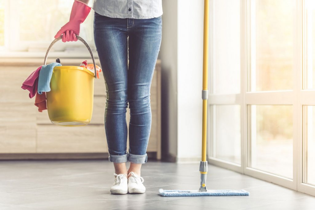 Čistenie domácnosti dezinfekčnými prostriedkami