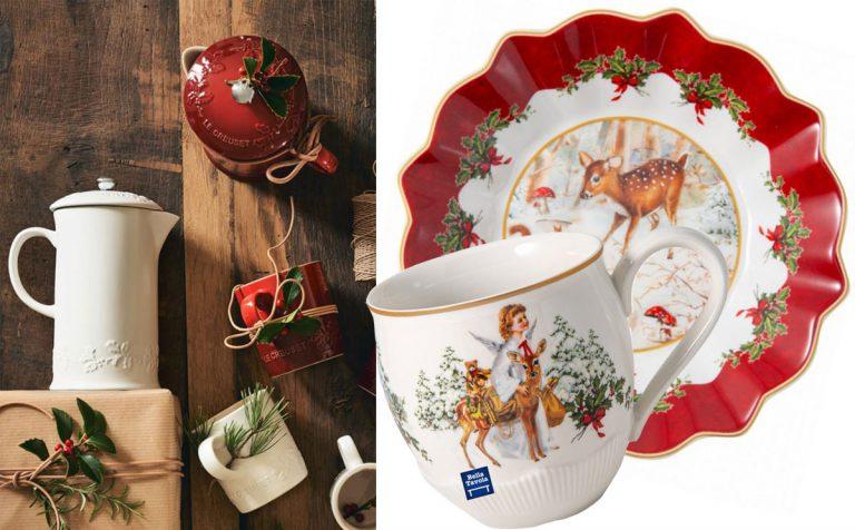 Výnimočný porcelán na vianočnom stole