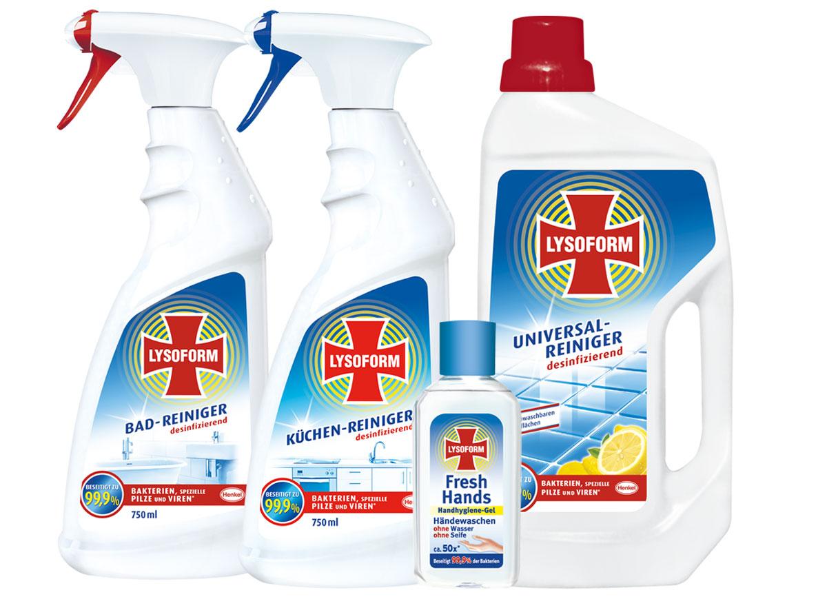 Cena vianočnej súťaže: dezinfekčné čistiace prostriedky