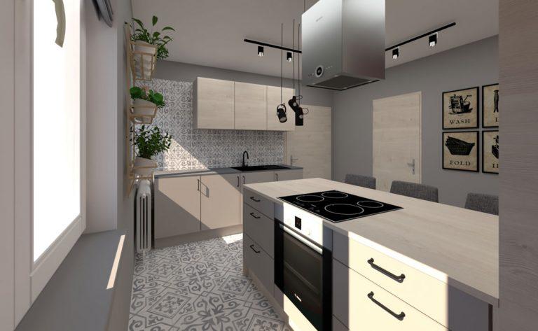 Zmena bez búrania alebo Nová tvár pre priechodnú kuchyňu v dvojgeneračnom dome
