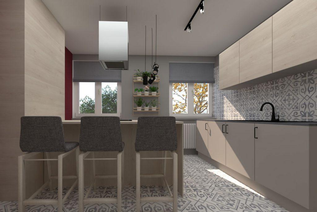 Dizajnérske riešenie prechodnej kuchyne bez stavebných zásahov