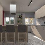 Dizajnérske riešenie priechodnej kuchyne bez stavebných zásahov